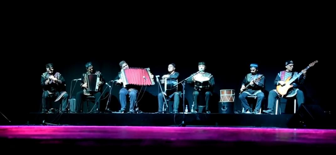 Концерт Грузинского национального балета Сухишвили в Батуми